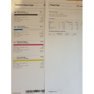 HP Color LaserJet Enterprise M551dn (CF082A), Mazlietots printeris